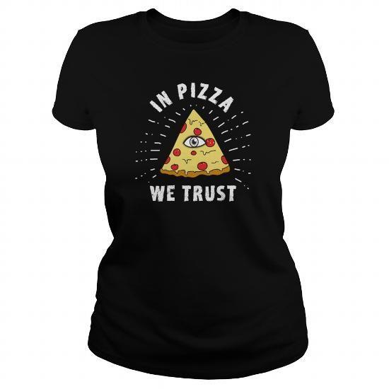 Cool  pizza love Illuminati Funny Eye Food Humor geek bl T-Shirts