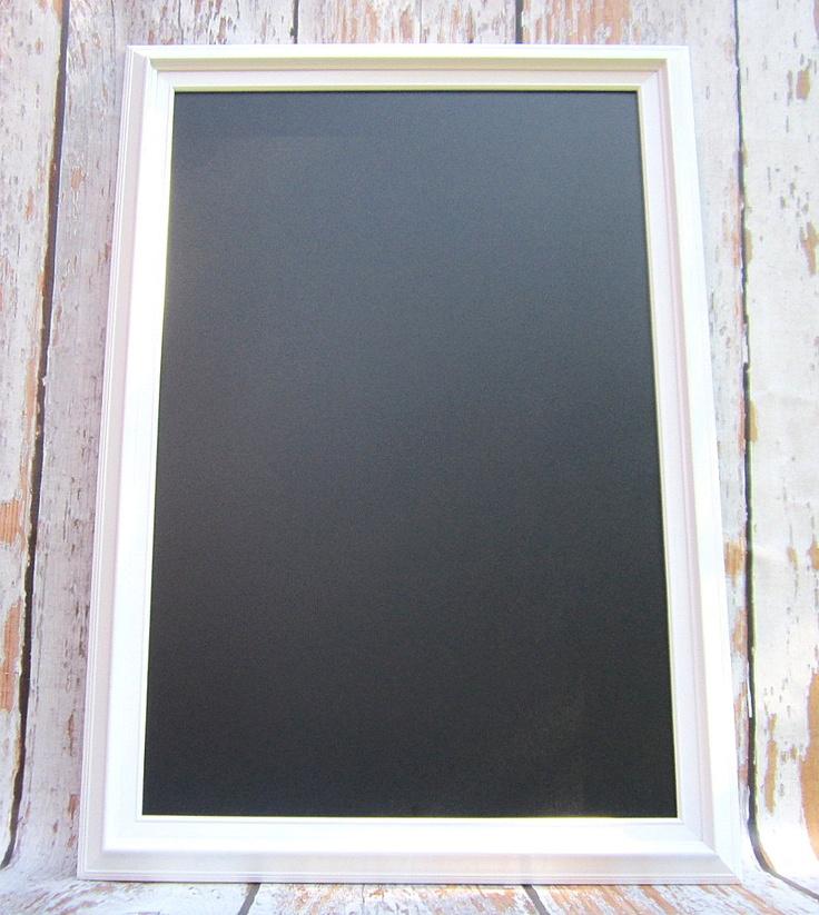 large white chalkboard 41x29 extra large framed chalkboard magnetic chalk board modern home decor unique urban white framed chalk board