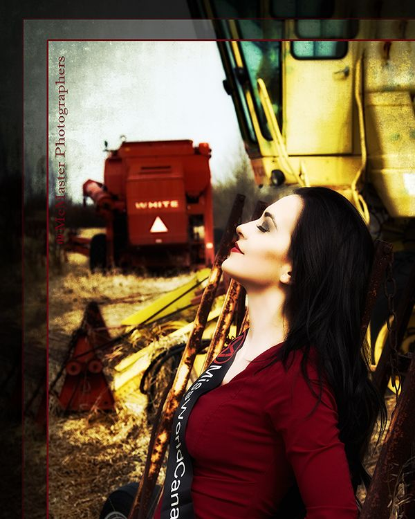 Glamour shoot done for Miss World Canada contestant.