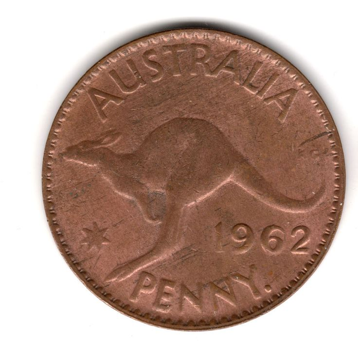 1962 Australia Penny Distinct Shadow on Queen's Nose High Collectable Grade Coin! 25.00