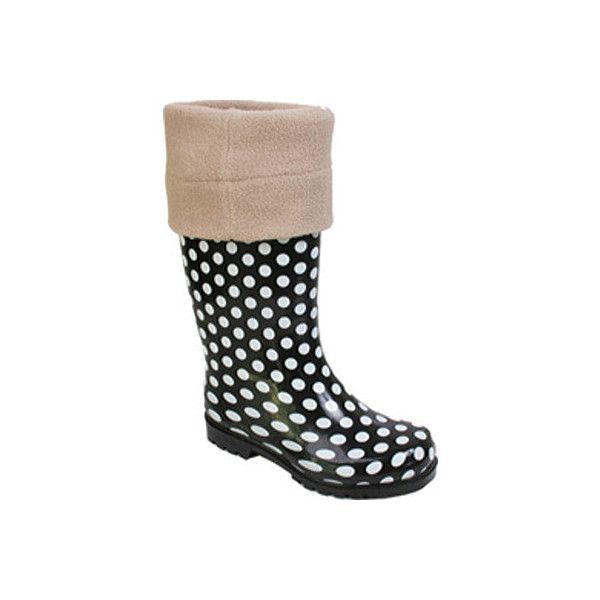 Women's Nomad Boot Warmer - Cream ($25) ❤ liked on Polyvore featuring shoes, boots, yellow, wellies shoes, cream boots, yellow wellington boots, rain boots and wellington boots