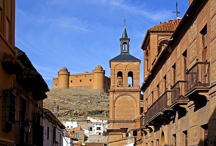 Impresionante la Calahorra y su castillo.