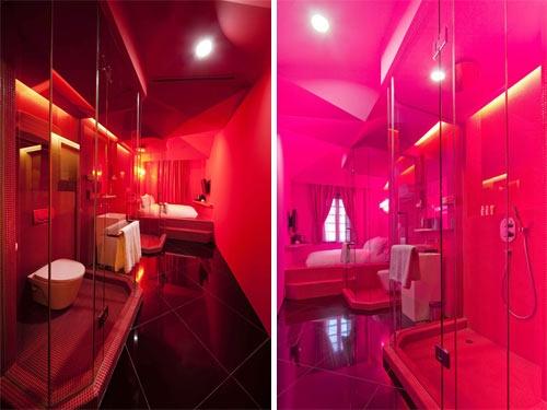 hotel temtico e colorido em singapura
