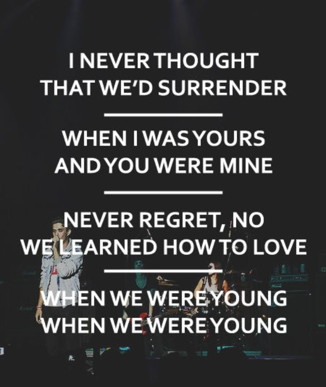 When We Were Young: 46 Best The Summer I Fell In Love