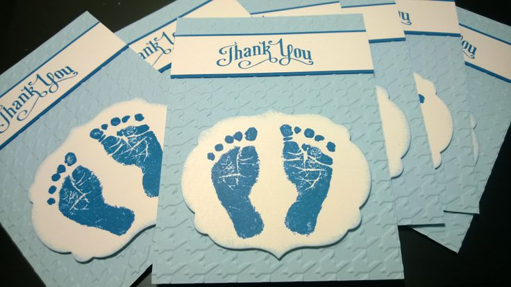 Thank You - by Kylie Swain Used as a Christening Thank you - postcard style. https://www.facebook.com/BlossomDesigns2