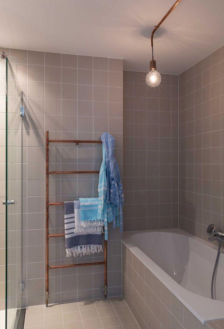 10 best handdoekenrek badkamer images on pinterest live
