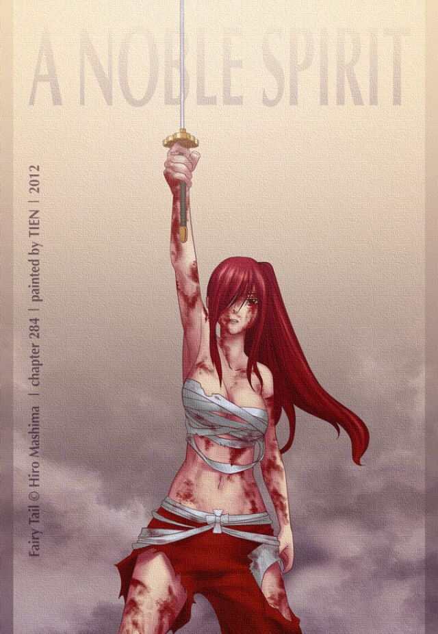 Fairy Tail Erza Scarlet A Noble Spirit
