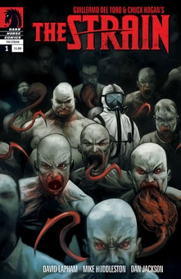 Comic Review: Guillermo Del Toro's and Chuck Hogan's The Strain, #1 | I Smell Sheep