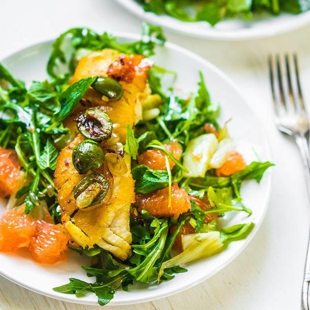 Pavé de saumon aux agrumes