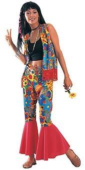 Hippy costume.  Disfraz de Hippy adulto.Disfraces de los 60-70