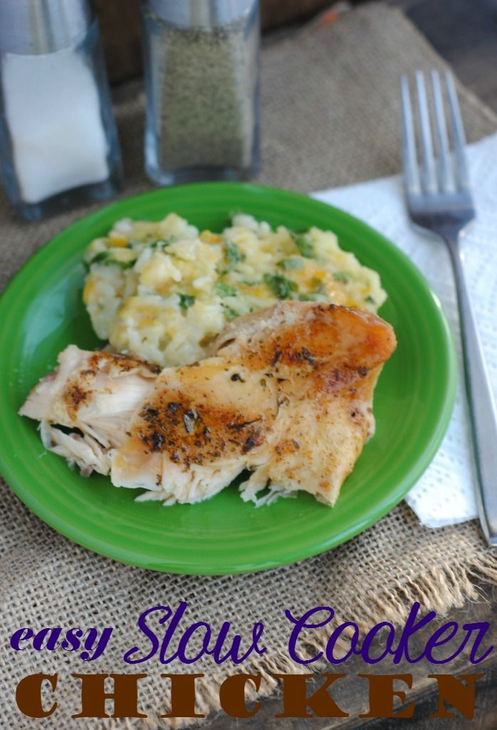 Easy Slow Cooker Chicken Breast Recipe Chicken Breasts Sandwiches And Read More