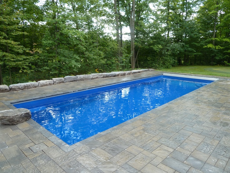 23 best images about thursday fiberglass pools on for Fiberglass swimming pools