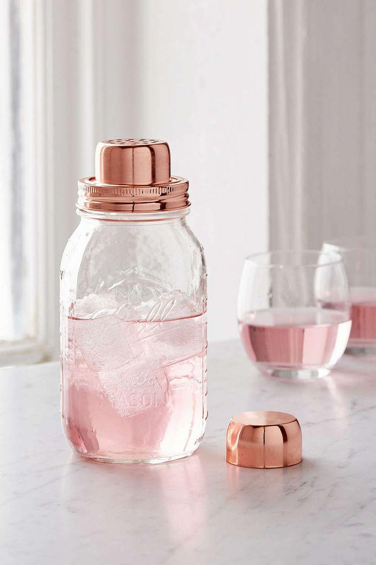 W&P Design Mason Jar Cocktail Shaker