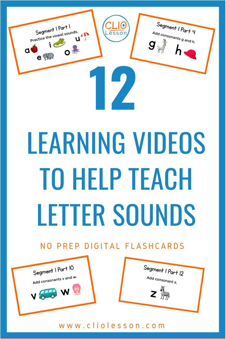 Teaching Letters And Sounds Phonics