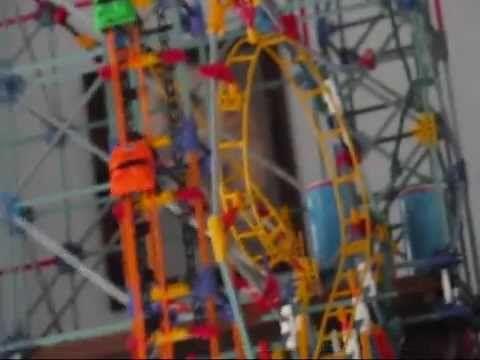 k nex rippin rocket roller coaster instructions
