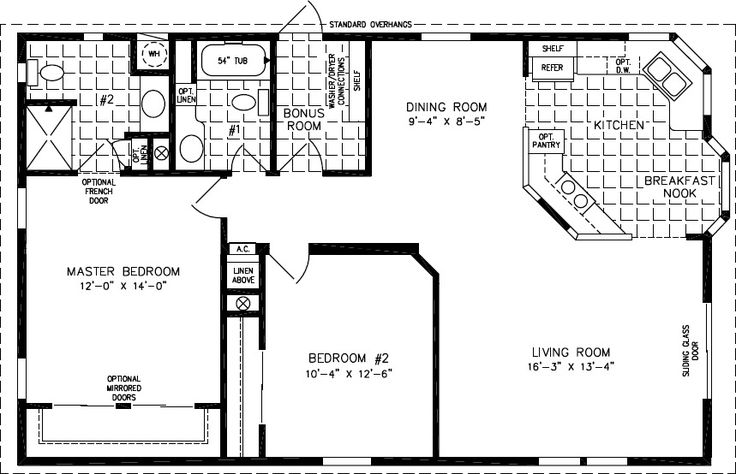 132 best home design double wide images on pinterest for Fha house plans