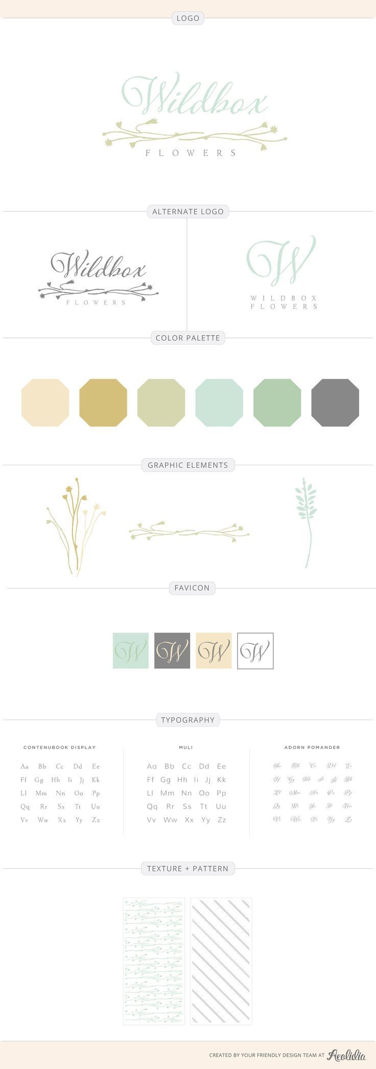 312 best Branding & web design by Aeolidia images on Pinterest ...