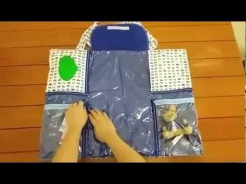 Trocador de Bebê Portátil Multiuso - Como Fazer? Passo a Passo - Ateliê Decor D' Luxo - YouTube
