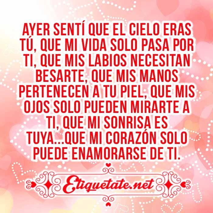 Imágenes con Frases Románticas VER EN ░▒▓██► http://etiquetate.net/category/imagenes/imagenes-con-frases-romanticas/