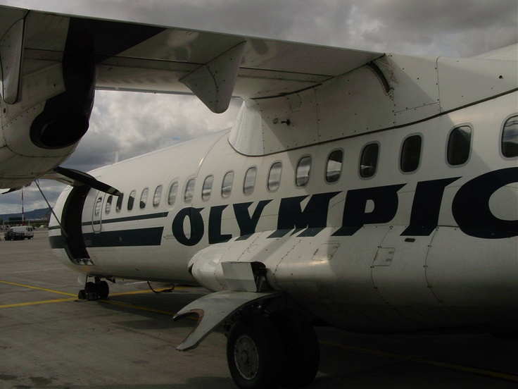 OLYMPIC AIRLINES  The national airline in Greece, provides service from a few European destinations to Athens, and great connections from Athens to all the Greek islands