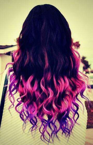 4255 best colored hair images on pinterest hairstyles braids i wanna color ombre my hair sooo bad urmus Image collections