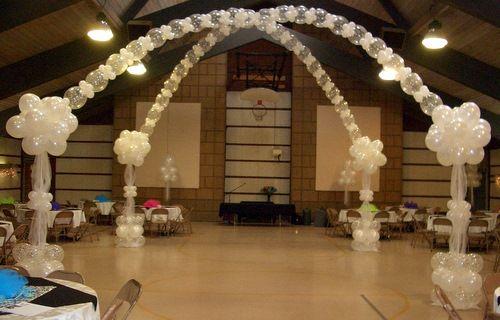 Wedding Balloon Decor ~ Tulsa, OK