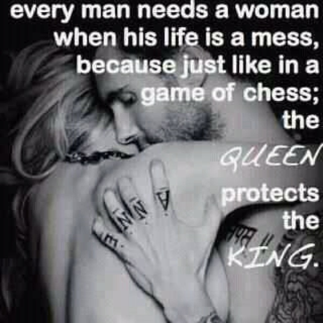 So lucky to have my King!