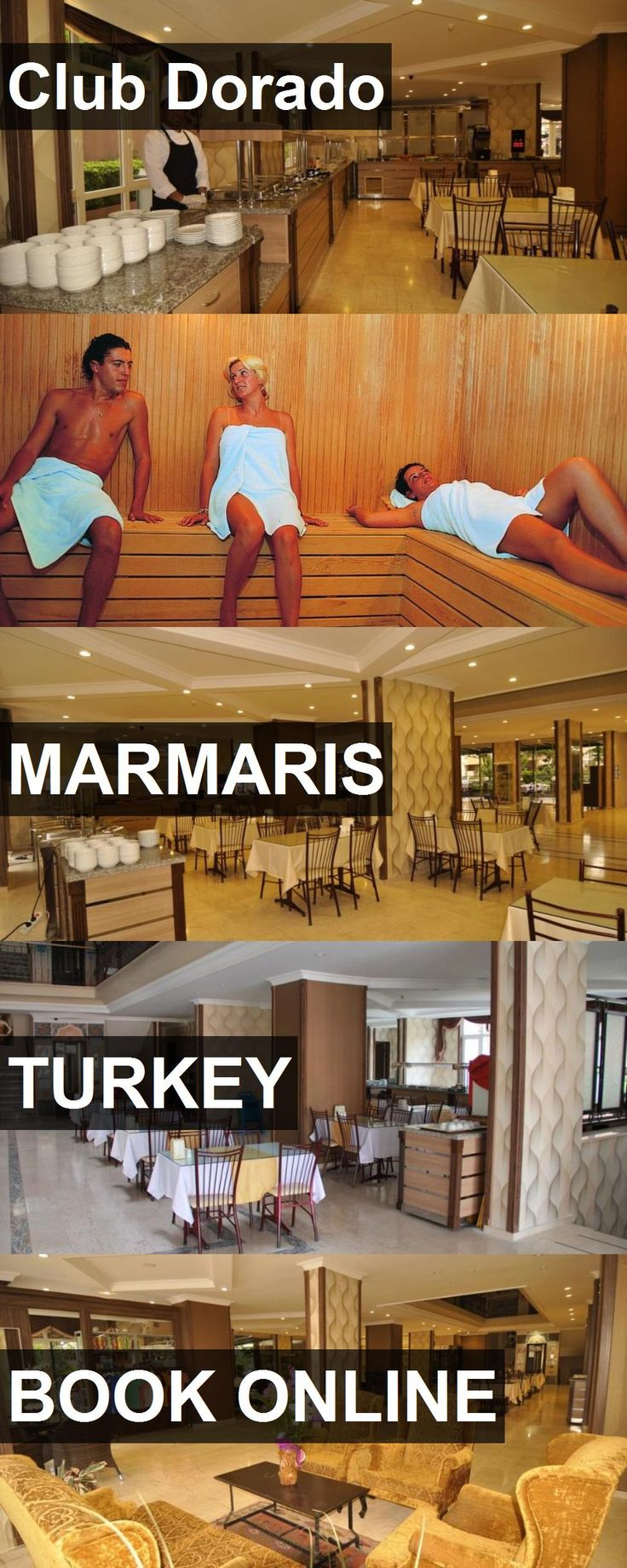 Hotel Club Dorado in Marmaris, Turkey. For more information, photos, reviews and best prices please follow the link. #Turkey #Marmaris #hotel #travel #vacation