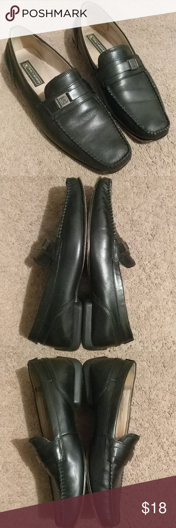 Stacy Adams Archer Men's Slip-Ons Up for sale is a previously worn pair of Stacy Adams slip-ons. They contain noticeable wear from daily use, but are still wonderful looking, comfortable shoes! Stacy Adams Shoes Loafers & Slip-Ons