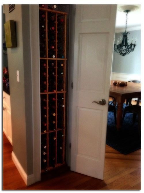 Turn room into wine cellar woodworking projects plans for Turn closet into wine cellar