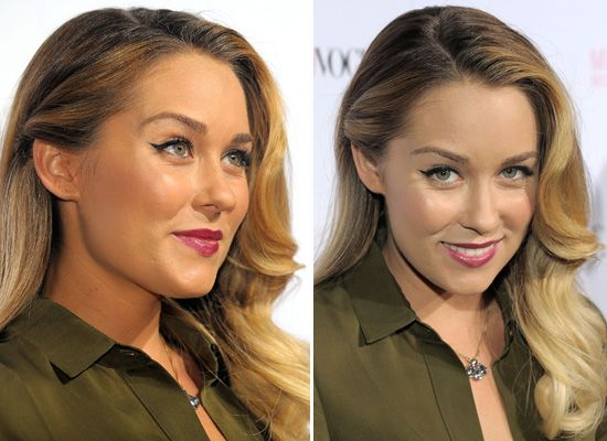 slight obsession with this old hollywood hairstyle from Lauren Conrad