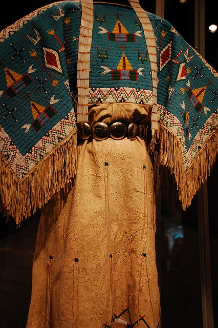 Women's Native American Dress by Mabsuuta, via Flickr