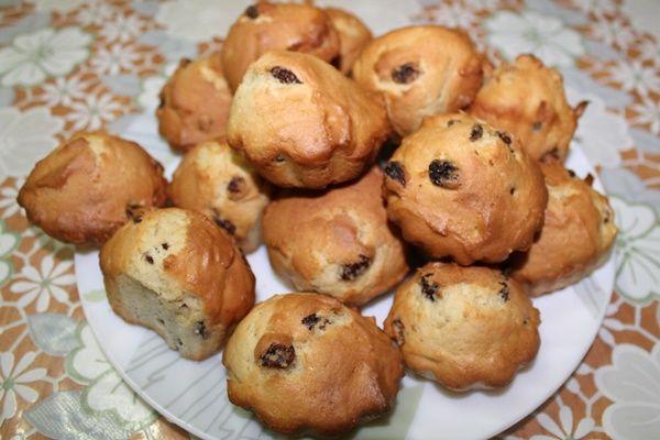Готовим вкусные кексы за 20 минут