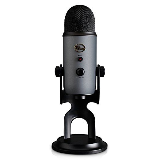 Blue Yeti USB Microphone - Silver: Blue Microphones: Amazon.co.uk: Musical Instruments