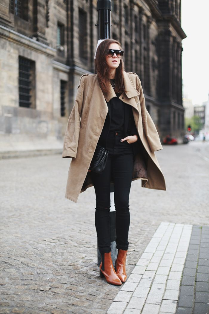 Style Scrapbook #classictrench #camel