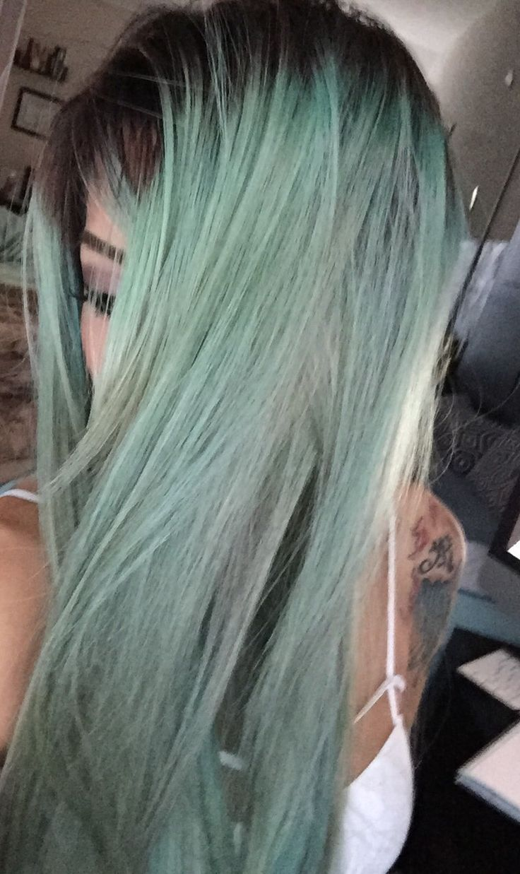 Bekahboo Hair Haircolor Turquoise Lavender Blonde Silver