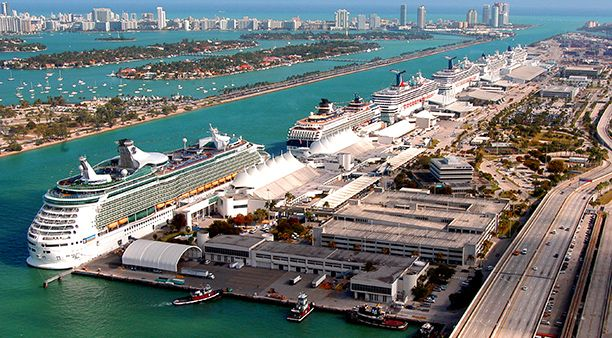 Set sail from Miami to anywhere. PortMiami is home to multiple cruise lines. Be sure to schedule a few days in Miami before or after your cruise!