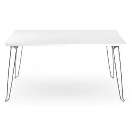 AEON Furniture Amanda Coffee Table in Gray and Chrome - Walmart.com