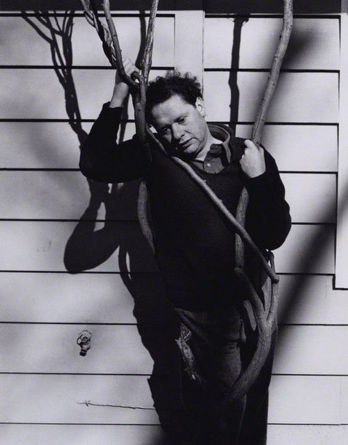 Dylan Thomas, 1952 by Rollie McKenna National Portrait Gallery, London