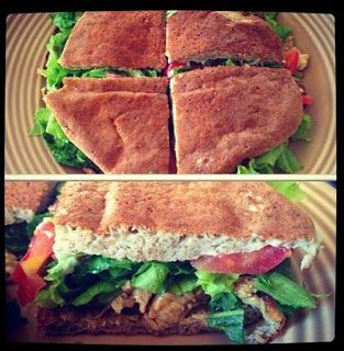 Pão low carb sem gluten, gordura ou açúcar. Rápido e fácil. Na frigideira.