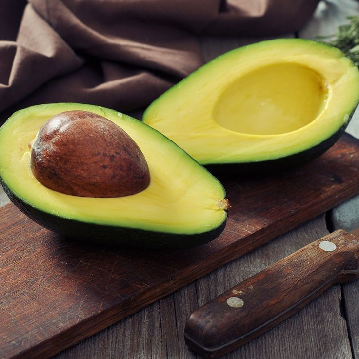 good sources of fiber avocado