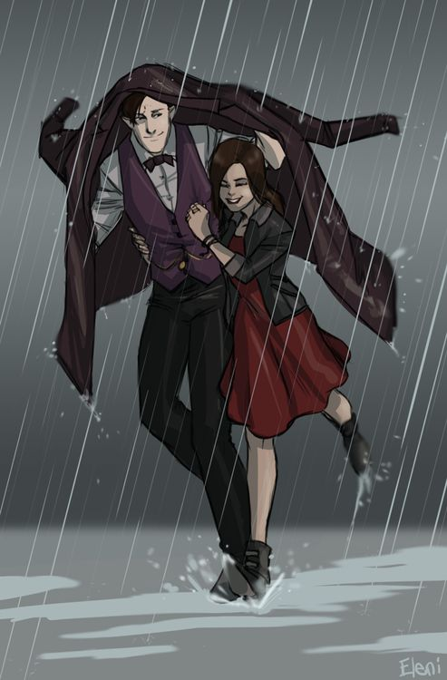 I know that this is 11 and Clara, but this si too adorable and I want them as charries.