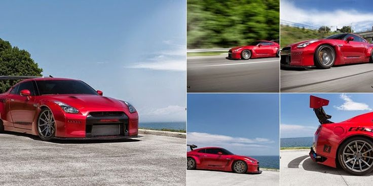 All Cars NZ: Nissan GT-R by Vossen Wheels #GotRims? Bring new life to old #Rims with #StickerBomb #RImWraps!