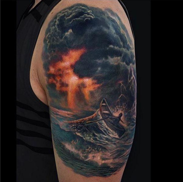 de 25 bedste id er inden for storm tattoo p pinterest marine tatoveringer geometriske. Black Bedroom Furniture Sets. Home Design Ideas
