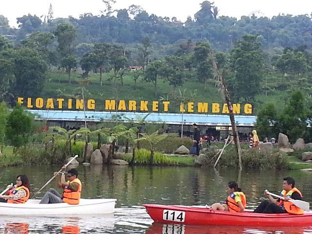 Ragam Wisata dan Kuliner Indonesia: Floating market Lembang Bandung
