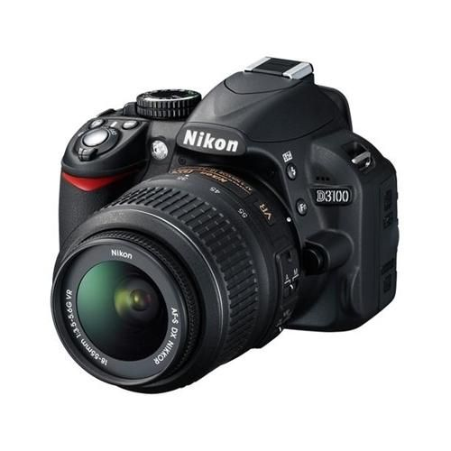 Enjoy capturing stunning images with D3100 Digital SLR Camera from Nikon. This camera features the 14.2 MP DX-format CMOS Image Sensor along with intuitive controls and on-board assistance... More Details »nikon digital slr camera bodies d800