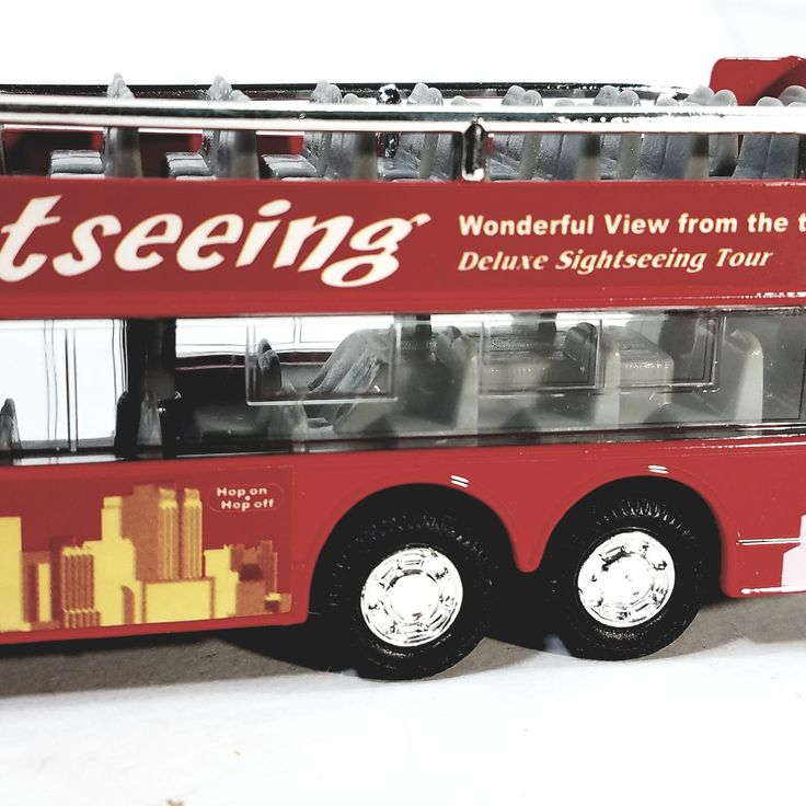 SF Toys Sightseeing NYC Red City Tour New York Passenger 6