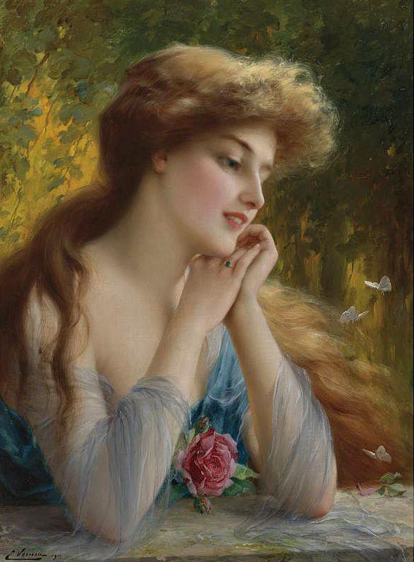 Emile Vernon (1872 - 1919) (80 работ)