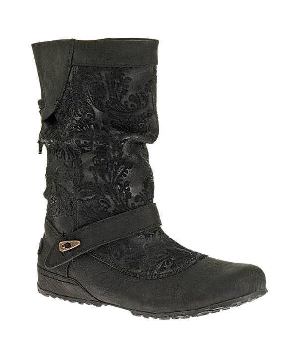 Look at this Merrell Black Haven Pull Waterproof Leather Boot on today!