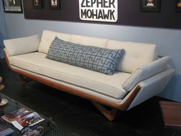 Adrian Pearsall Bench Seat Sofa